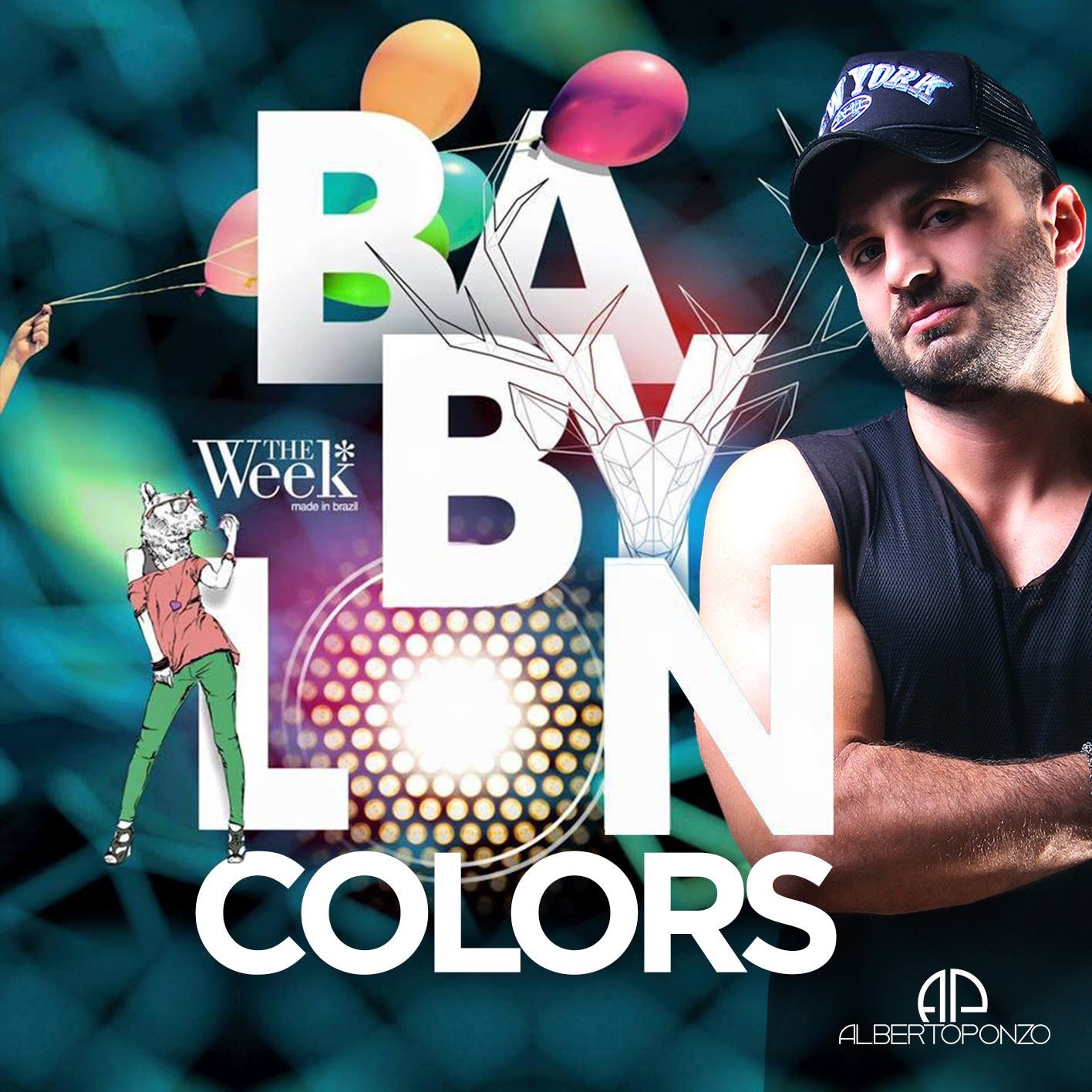 DJ Alberto Ponzo - SET COLORS TWSP