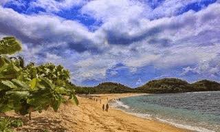 Pasir Putih Pantai Watukarung, Pacitan_Jatim - 4