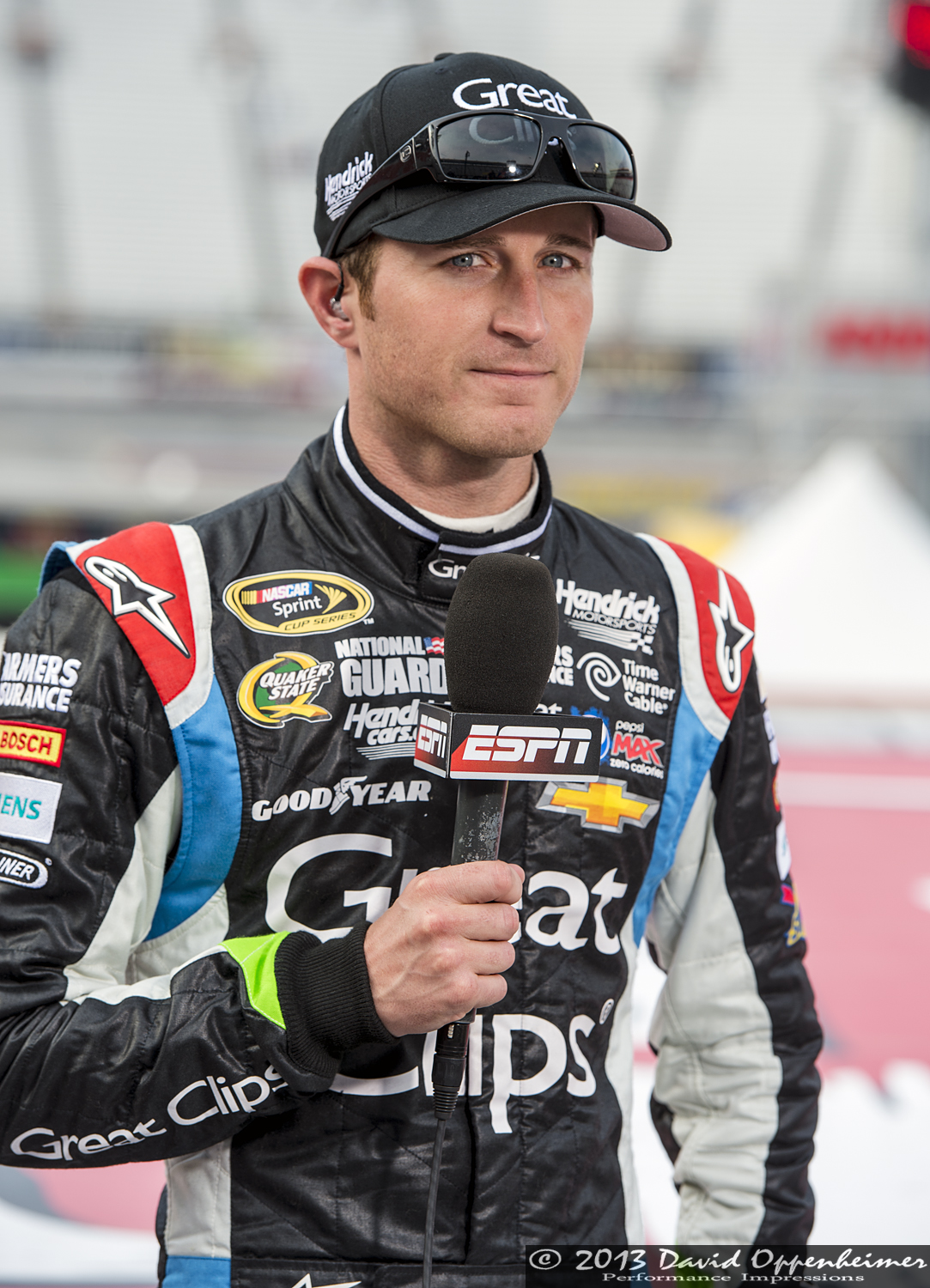 Kasey Kahne at Bristol Motor Speedway during NASCAR Sprint Cup Food City 500