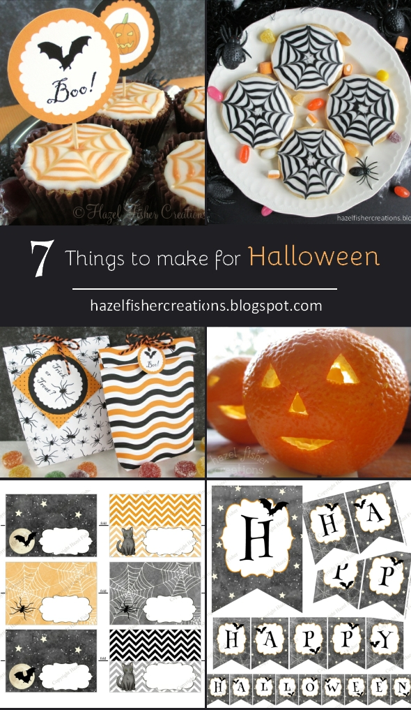 7 Things to Make For Halloween hazelfishercreations
