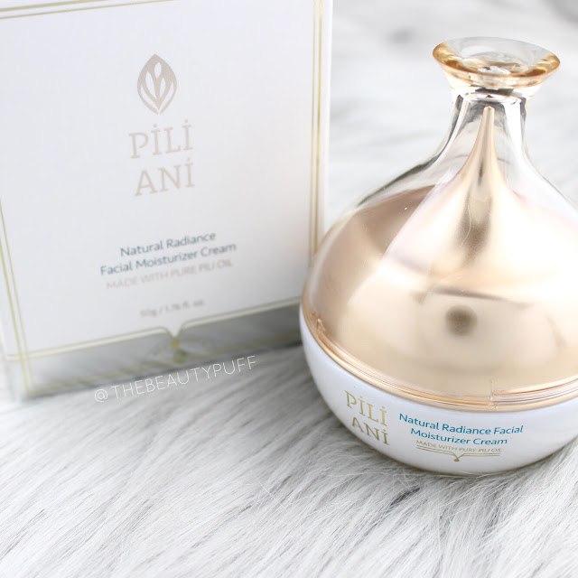 Pili Ani Natural Radiance Facial Moisturizer Cream  |  The Beauty Puff