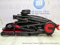 Kereta Bayi Pliko PK388 Monza Rocker Hadap Depan atau Belakang Red