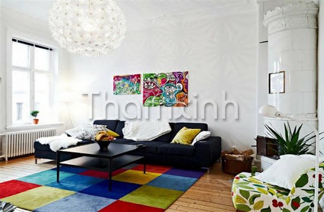 Thảm Xinh bán các tấm thảm trải sàn cho gia đình