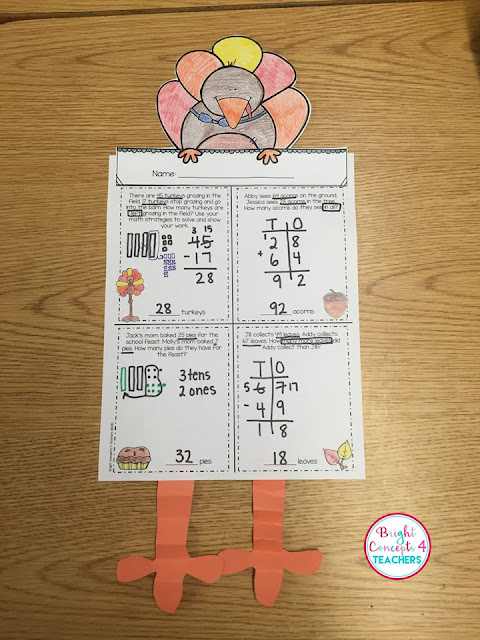 My students love to review their math skills with this free template