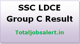 SSC LDCE Group C Result