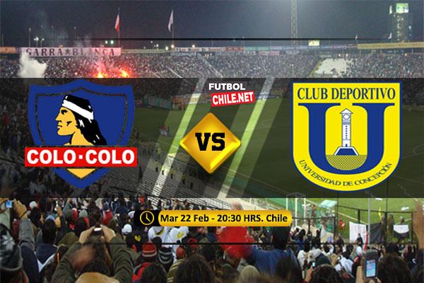 PREVIA: Colo-Colo vs Universidad de Concepción