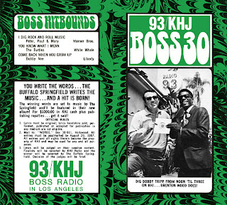 KHJ Boss 30 No. 109 - Bobby Tripp with Brenton Wood