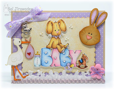 PND Baby Word Card