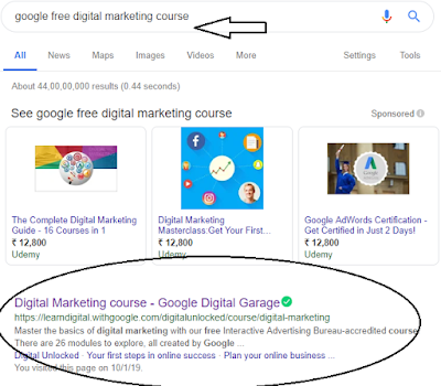 How To Get FREE Digital Marketing Full Course Online With Valid Certificate