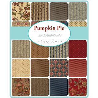 Moda Pumpkin Pie Prints Fabric by Laundry Basket Quilts for Moda Fabrics