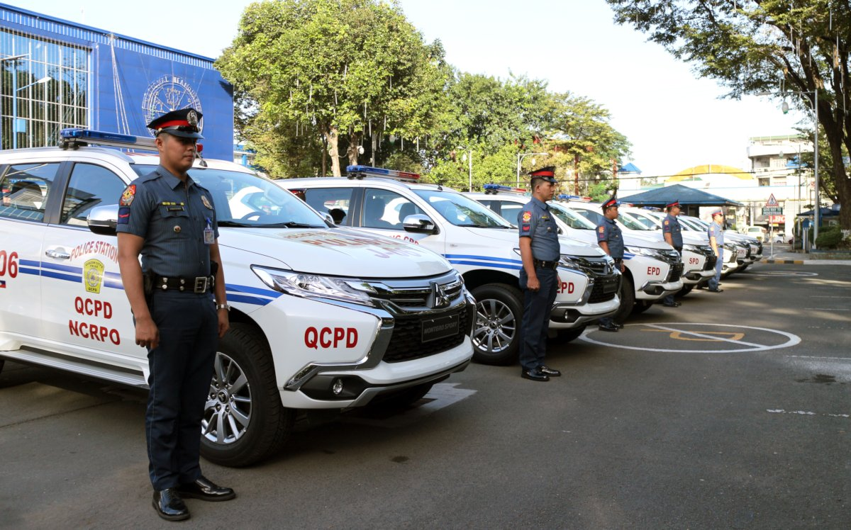 Pnp Takes Delivery Of 40 Mitsubishi Montero Sport Patrol Vehicles Philippine Car News Car