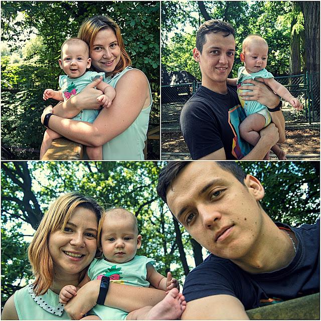 Rodzinny kolaż zdjęć