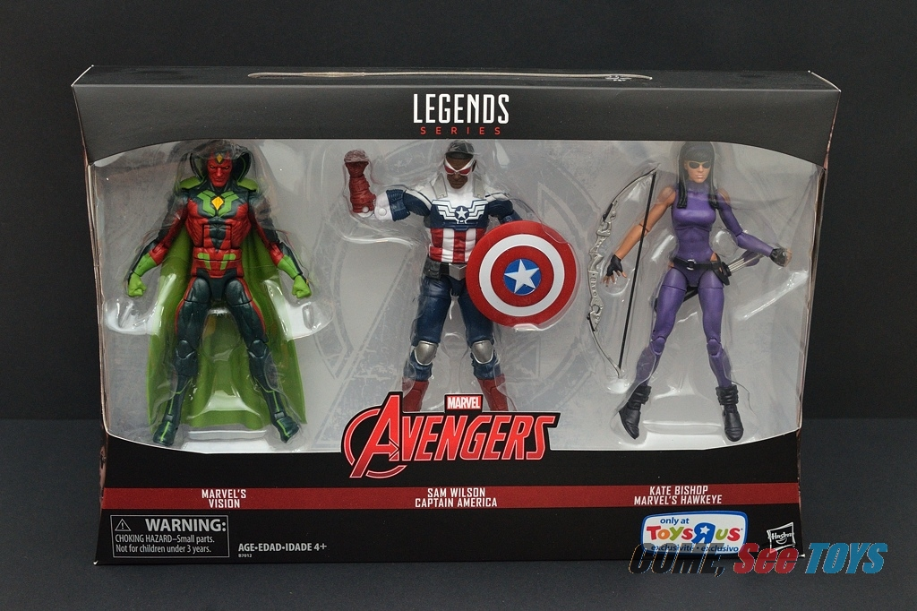 Come, See Toys: Marvel Legends TRU Exclusive Avengers 3-Pack