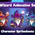 Game Assets 2D - Wizard
