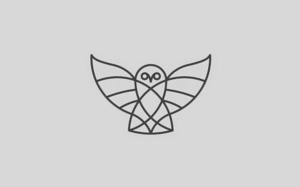 Trend Desain Logo Design 2015 - Line art logo