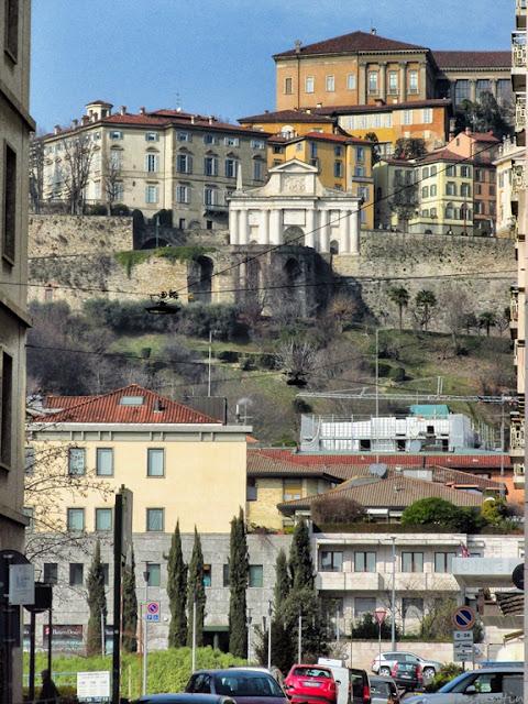 Bergamo - Oraşul de jos - oraşul de sus - blog FOTO-IDEEA