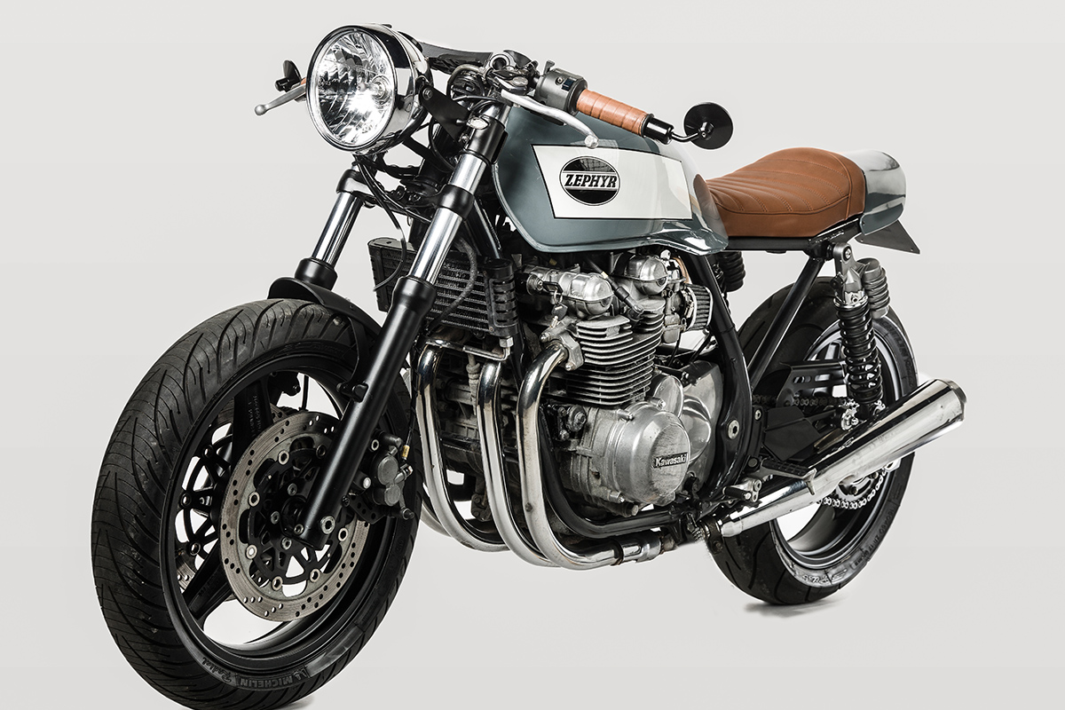 cool breeze - barn built kawasaki zephyr ~ return of the cafe racers