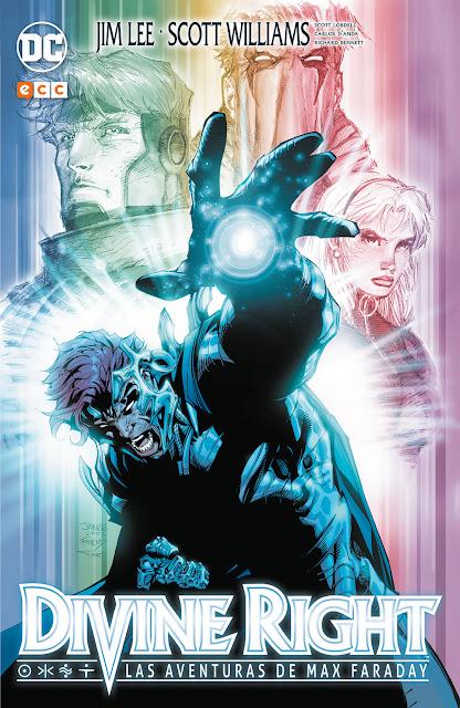 """Reseña de """"Divine Right: Las aventuras de Max Faraday"""" - ECC Ediciones"""