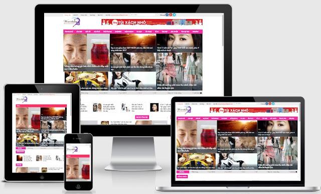 Templates blogspot tin tức cho trang báo chí tổng hợp