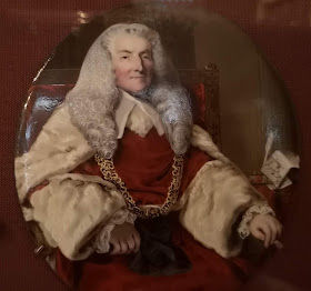 William Murray, 1st Earl of Mansfield  from a miniature on display in Kenwood House