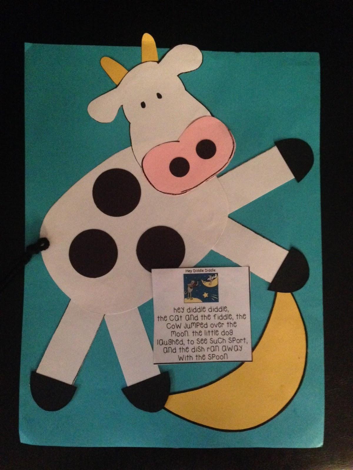 Preschool Wonders Nursery Rhyme Book Makeover