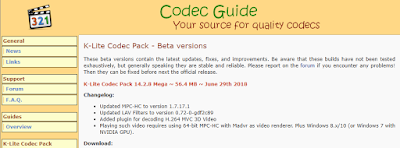 K-Lite Codec Pack Full 14.3.1 Beta