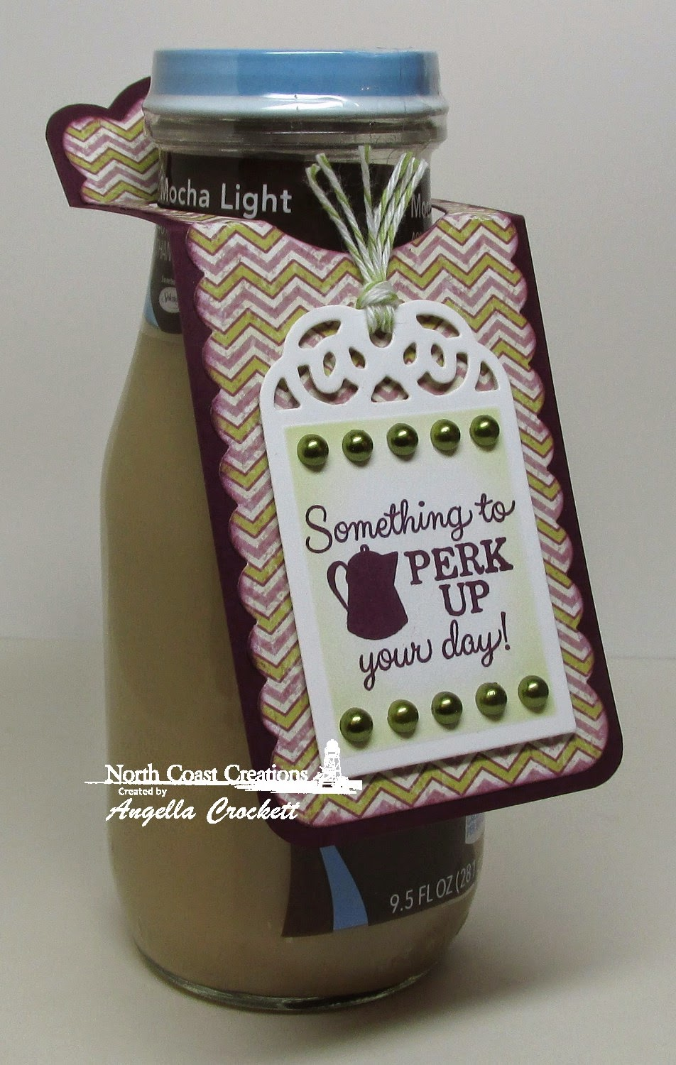 North Coast Creations What's Brewin'?, ODBD Custom Recipe Card and Tags Dies, ODBD Custom Bookmarks Dies, Project Designer Angie Crockett