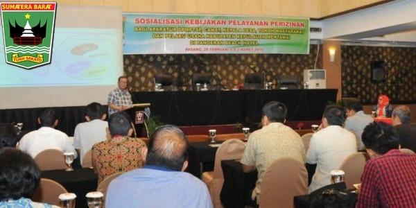 Wagub Nasrul Abit Paparkan Tantangan Pembangunan di Mentawai