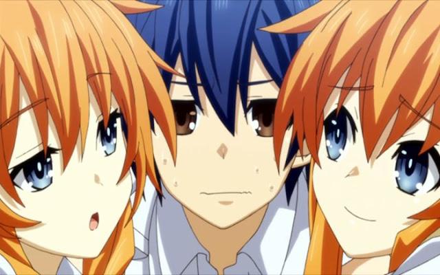 Rekomendasi Anime Harem Terbaik di Spring 2014