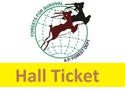 AP Forest Recruitment Hall Ticket 2017