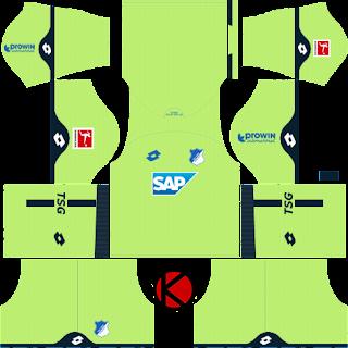 TSG Hoffenheim 2018/19 Kit - Dream League Soccer Kits
