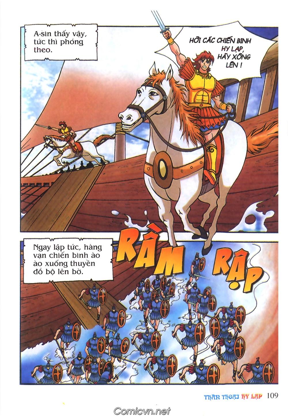 Thần Thoại Hy Lạp Màu - Chapter 55: Trận chiến đầu tiên - Pic 13