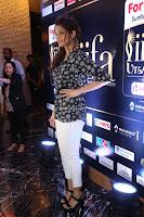 Ritika Singh in Black Printed Shirt and White Leggings at IIFA Utsavam Awards press meet 27th March 2017 24.JPG