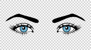 female eyes pict