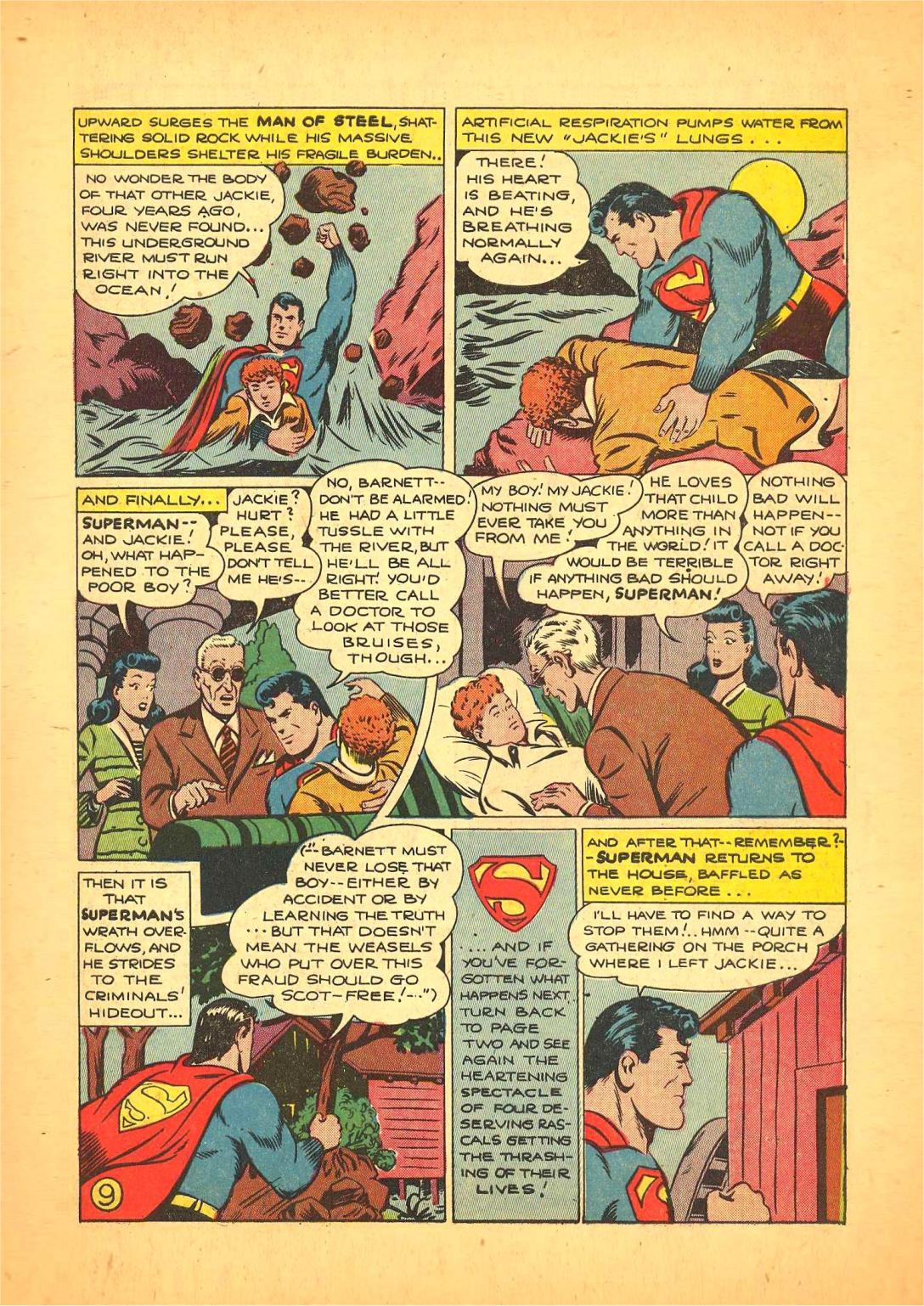 Read online Action Comics (1938) comic -  Issue #66 - 10