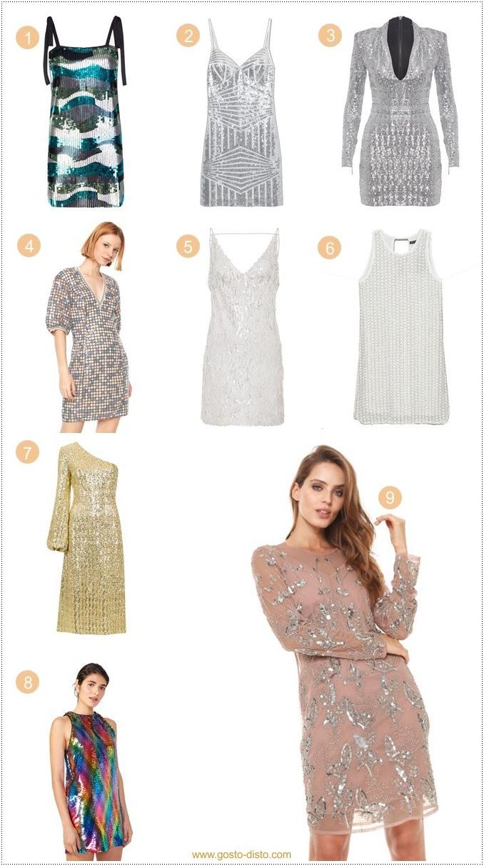 O vestido de paetês perfeito para o ano novo