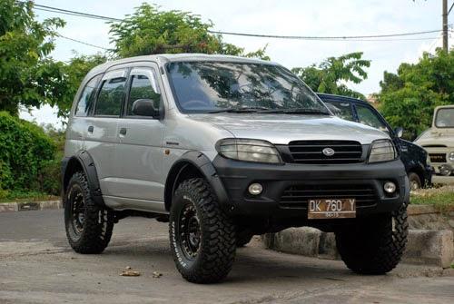Modifikasi Mobil Daihatsu Taruna 2014