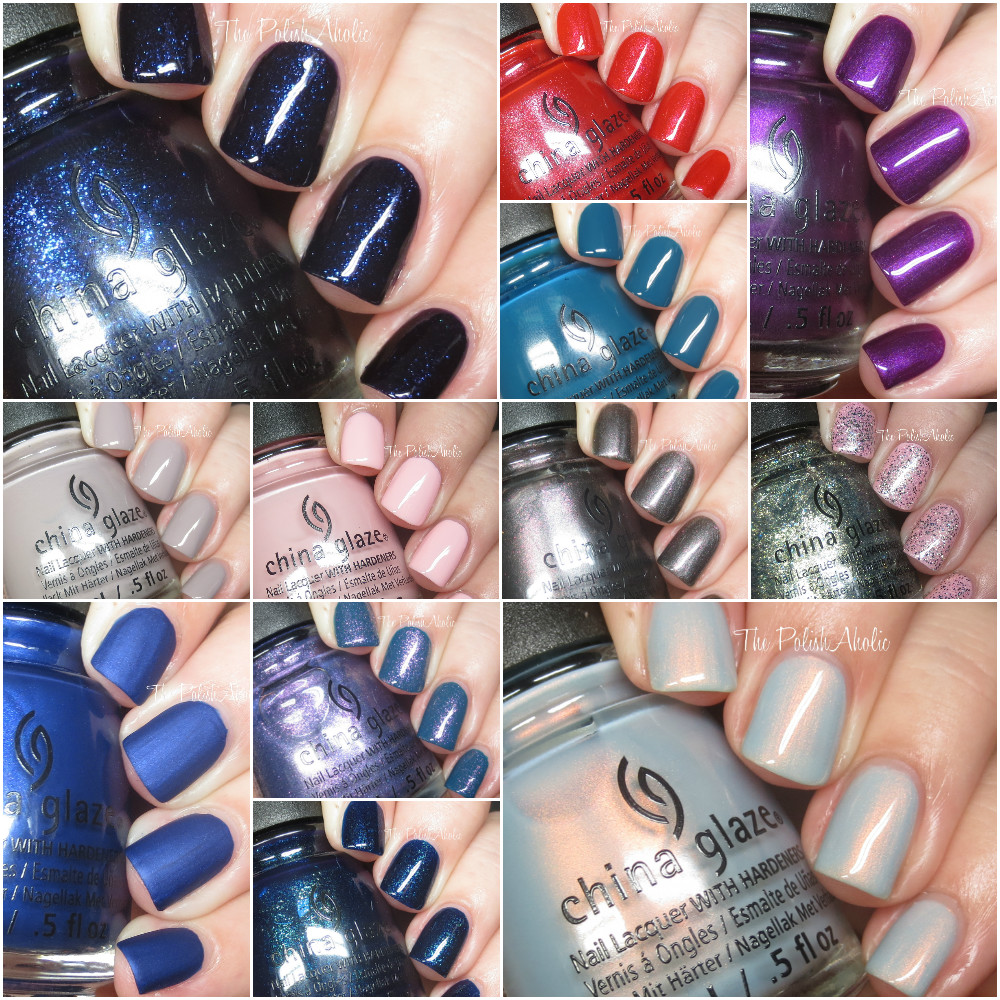 The PolishAholic: China Glaze Fall 2016 Rebel Collection Swatches ...