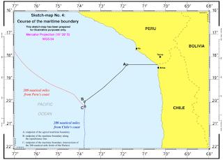 Frontera marítima entre Perú y Chile