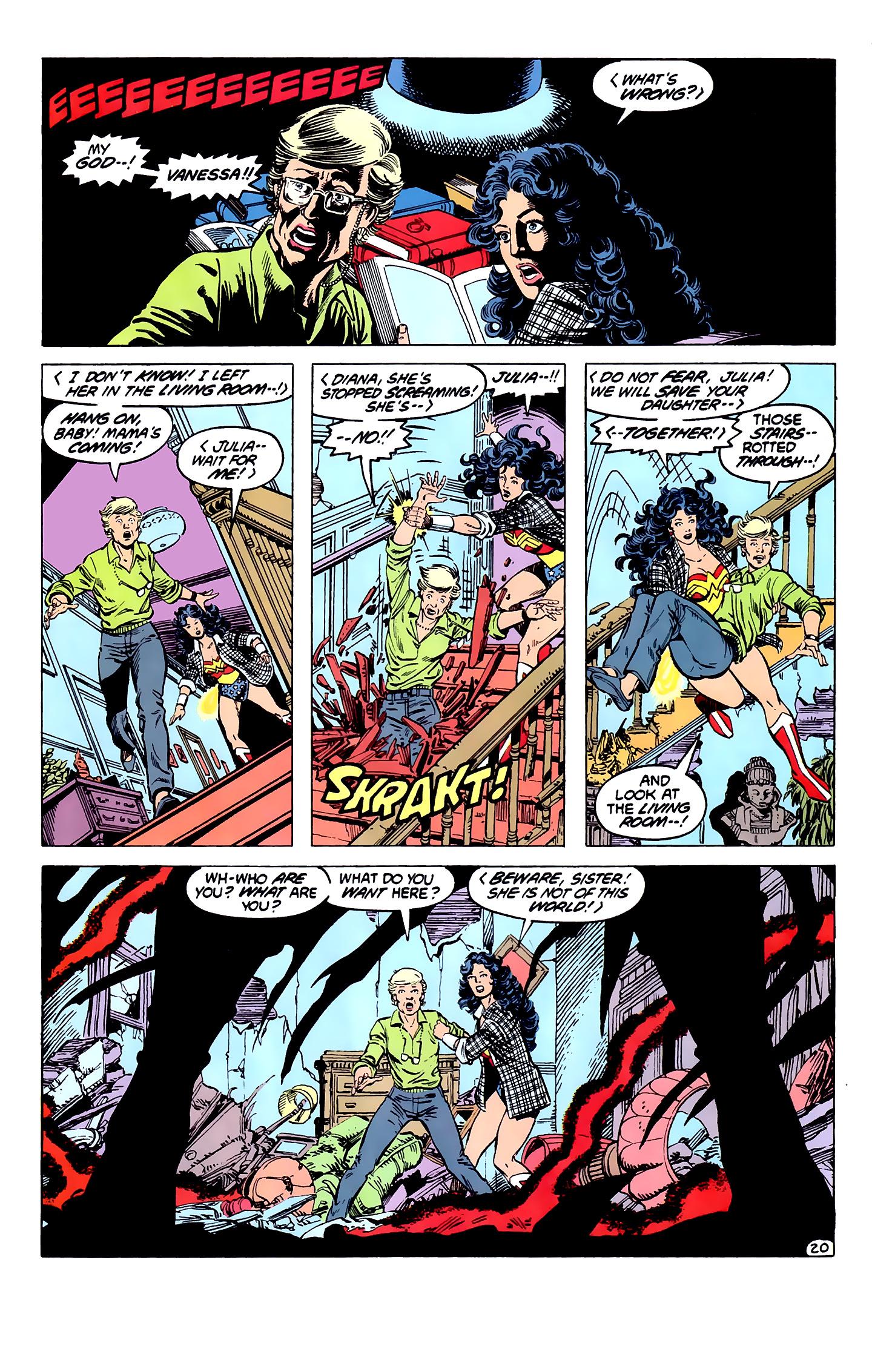 Read online Wonder Woman (1987) comic -  Issue #3 - 21