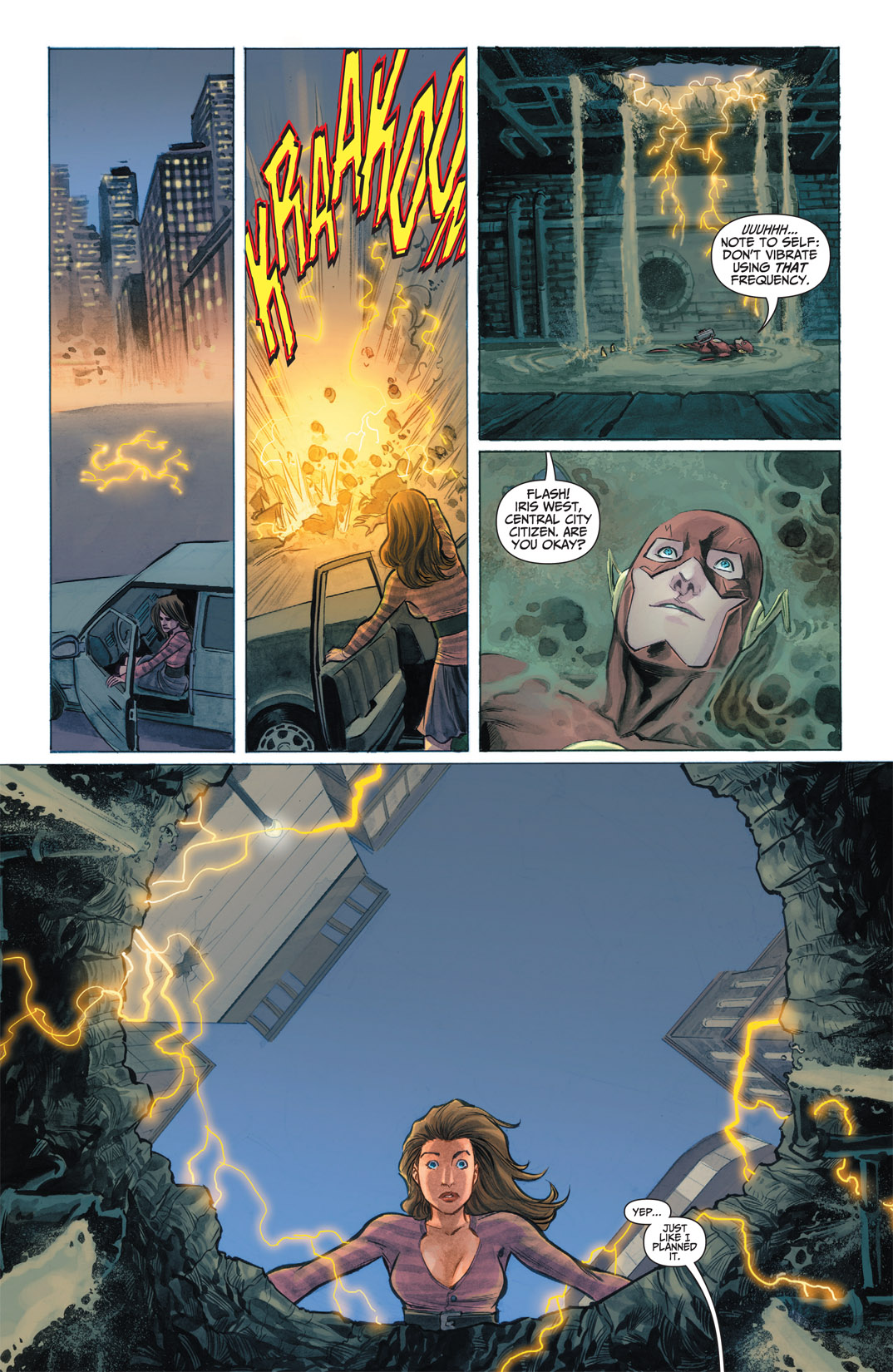Read online The Flash (2011) comic -  Issue #1 - 11