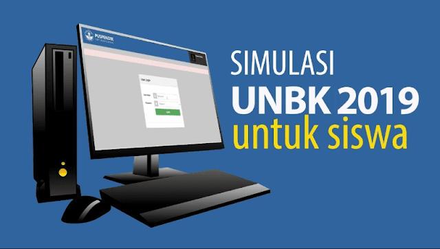 Cara Menjalankan Simulasi UNBK Secara Offline