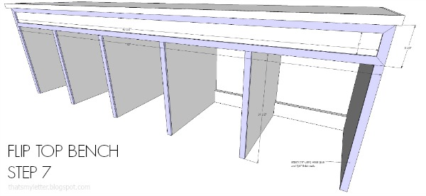 free plans mudroom bench