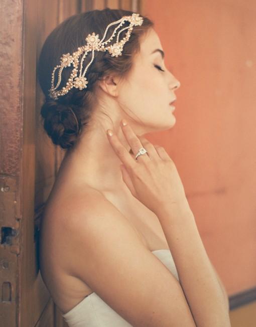 Bellos tocados de novias | Colección Jannie Baltzer