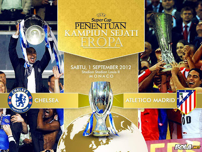 Chelsea Vs AtleticoMadrid Piala Super Eropa September Infokuh