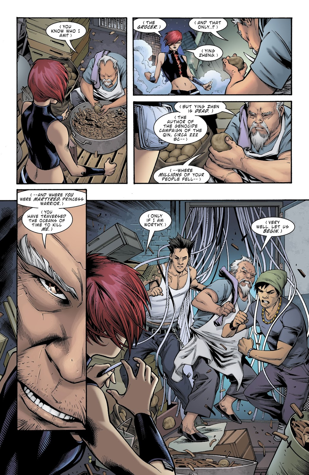 Read online Deathstroke (2016) comic -  Issue #21 - 6
