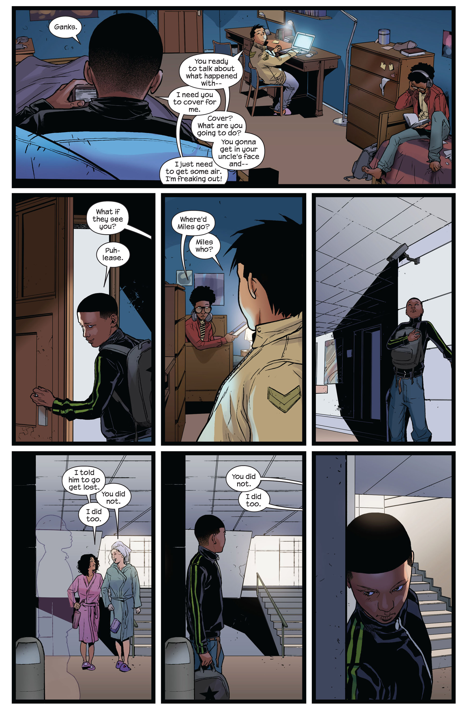 Read online Ultimate Comics Spider-Man (2011) comic -  Issue #8 - 15
