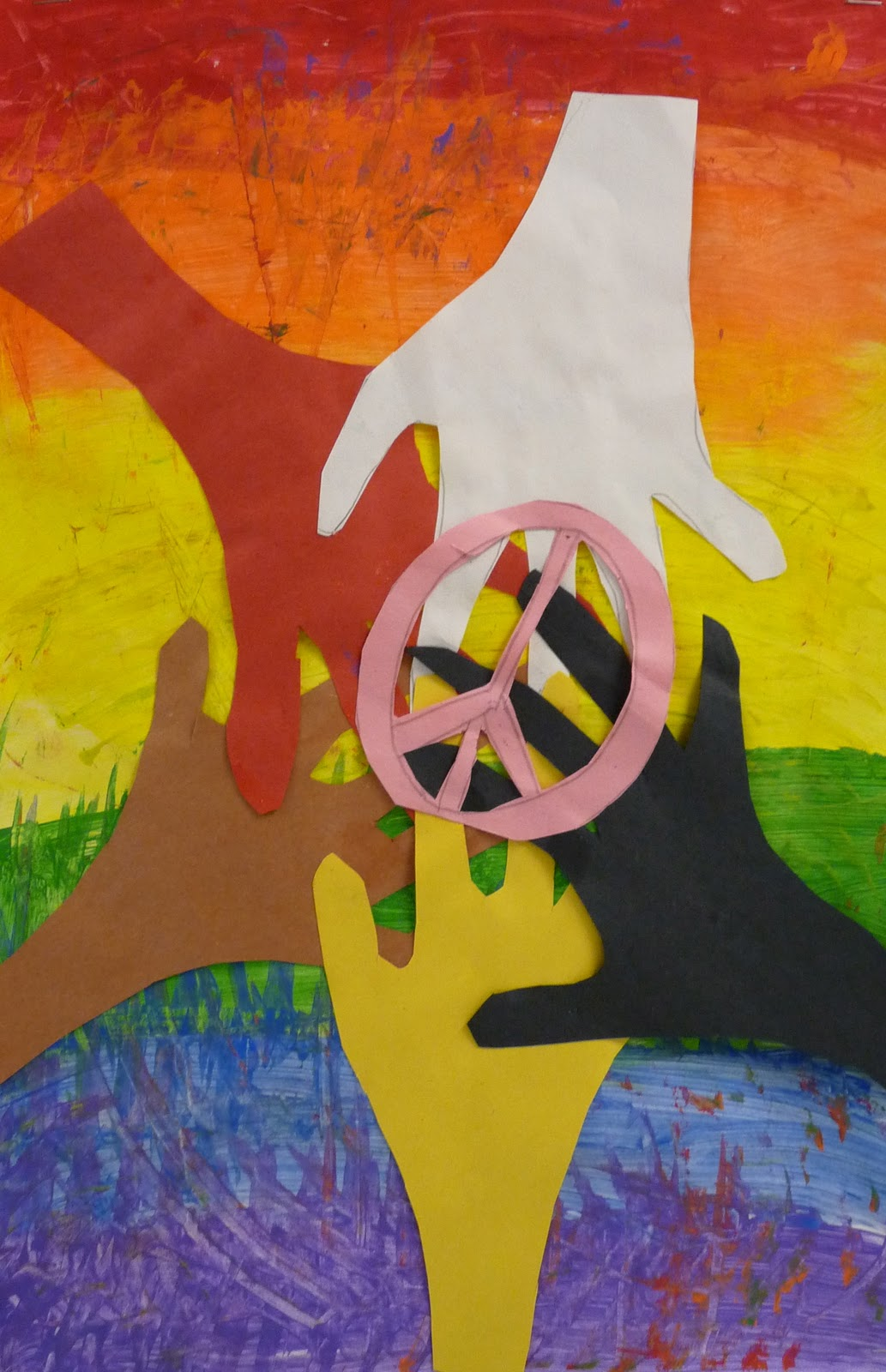 Art Paper Scissors Glue Mlk Inspired