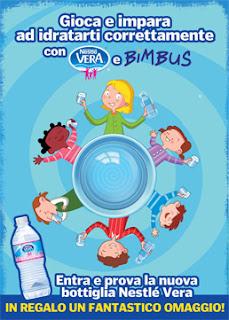 Logo Prova l'Acqua Nestlè Vera in omaggio + manuale per i vostri bambini