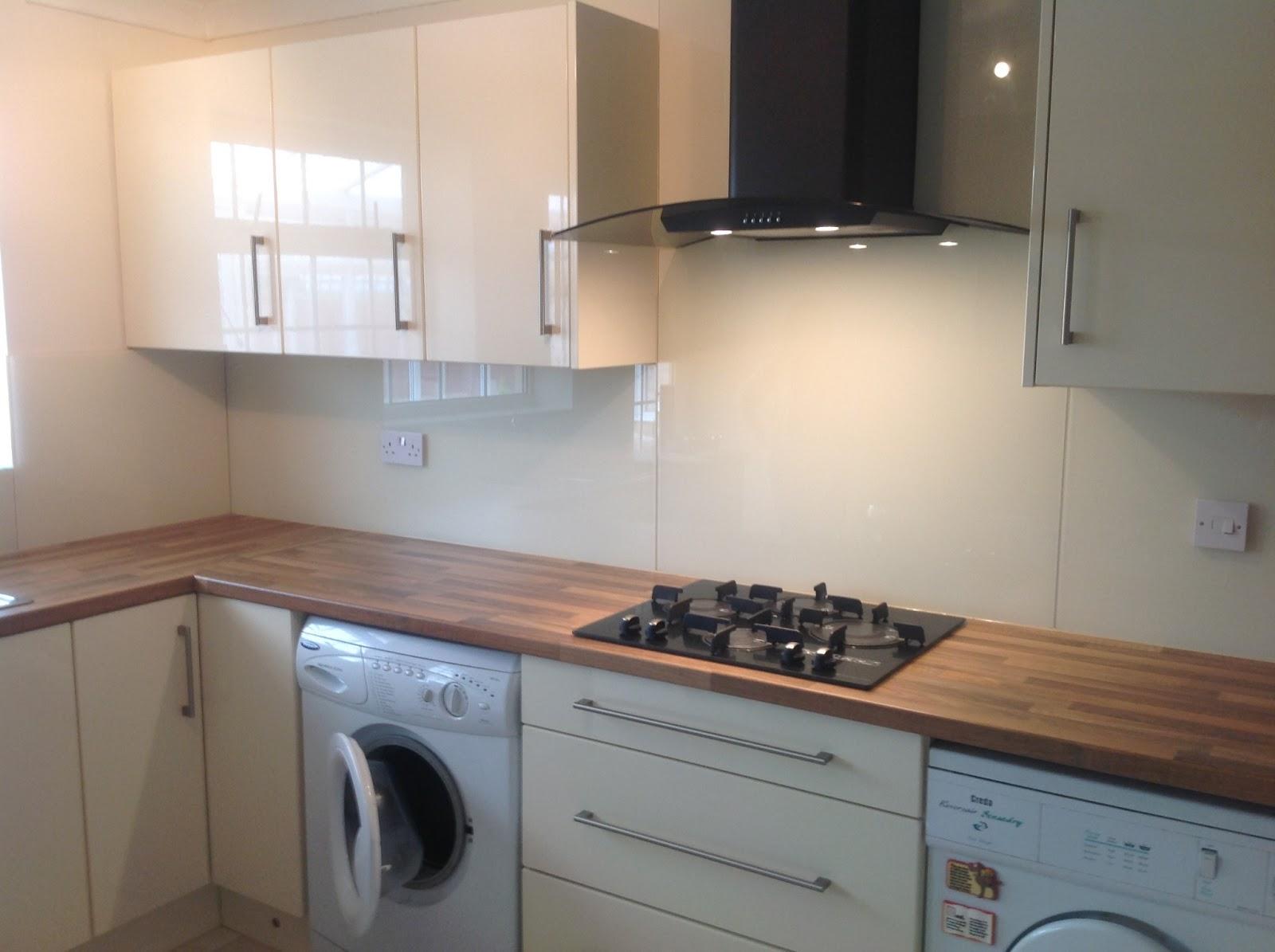 Cream Kitchen With White Appliances